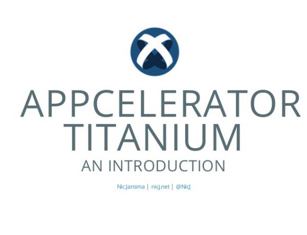 Appcelerator Titanium Intro