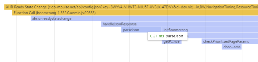 Chrome config.json parsing