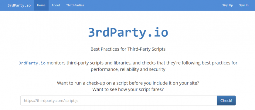 3rdParty.io