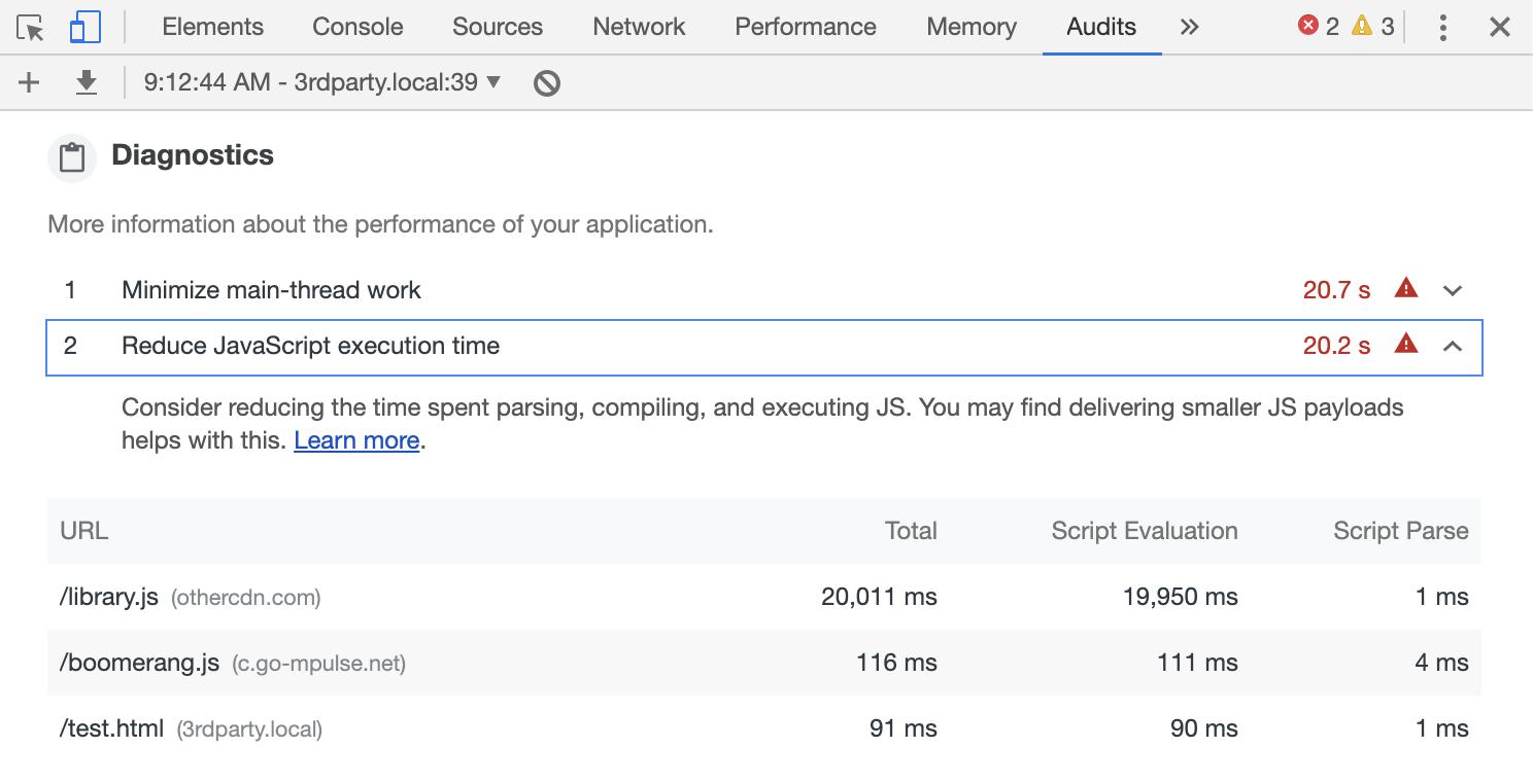Side Effects of Boomerang's JavaScript Error Tracking | NicJ net